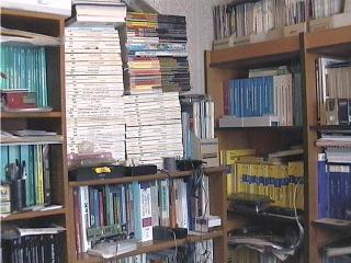 Section of our library.